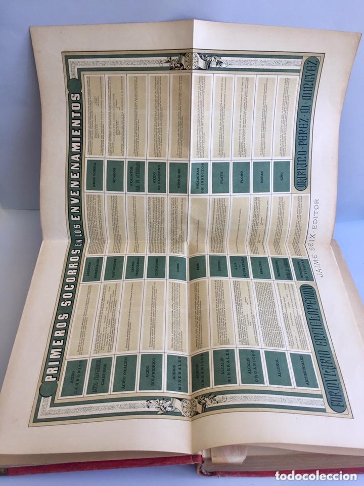 Libros antiguos: 1889 FORMULARIO ENCICLOPÉDICO MEDICINA FARMACIA VETERINARIA I y III - Foto 10 - 174011995