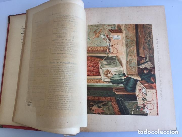 Libros antiguos: 1889 FORMULARIO ENCICLOPÉDICO MEDICINA FARMACIA VETERINARIA I y III - Foto 11 - 174011995