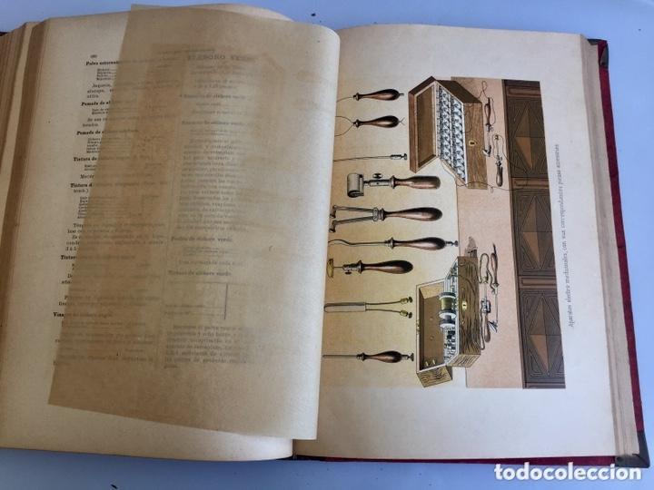 Libros antiguos: 1889 FORMULARIO ENCICLOPÉDICO MEDICINA FARMACIA VETERINARIA I y III - Foto 12 - 174011995