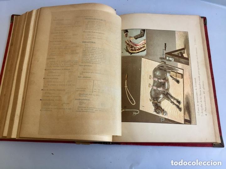 Libros antiguos: 1889 FORMULARIO ENCICLOPÉDICO MEDICINA FARMACIA VETERINARIA I y III - Foto 13 - 174011995