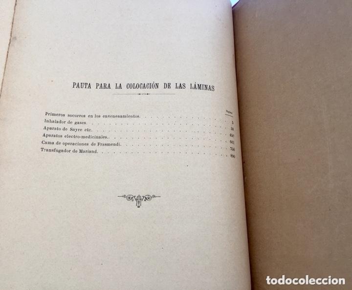 Libros antiguos: 1889 FORMULARIO ENCICLOPÉDICO MEDICINA FARMACIA VETERINARIA I y III - Foto 16 - 174011995