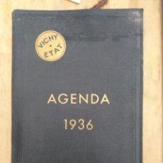 Libros antiguos: AGENDA DEL CUERPO MEDICO VICHY. 1936 NUEVA SIN ESCRIVIR VER FOTOS. Lote 174147660