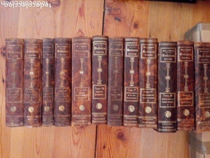 LIBROS TRATADO DE MEDICINA INTERNA DR. L MOHR Y DR. STAEHELIN 1915. 8 TOMOS (Libros Antiguos, Raros y Curiosos - Ciencias, Manuales y Oficios - Medicina, Farmacia y Salud)