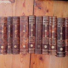 Libros antiguos: LIBROS TRATADO DE MEDICINA INTERNA DR. L MOHR Y DR. STAEHELIN 1915. 8 TOMOS. Lote 159096164