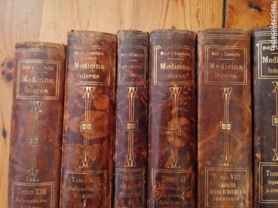 Libros antiguos: Libros TRATADO DE MEDICINA INTERNA DR. L MOHR Y DR. STAEHELIN 1915. 8 TOMOS - Foto 6 - 159096164