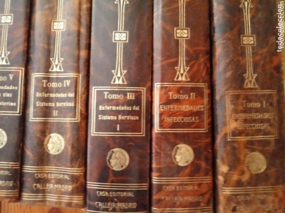 Libros antiguos: Libros TRATADO DE MEDICINA INTERNA DR. L MOHR Y DR. STAEHELIN 1915. 8 TOMOS - Foto 7 - 159096164