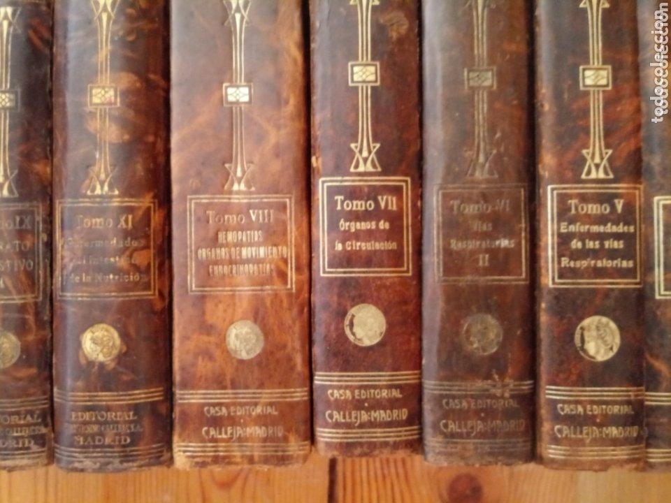 Libros antiguos: Libros TRATADO DE MEDICINA INTERNA DR. L MOHR Y DR. STAEHELIN 1915. 8 TOMOS - Foto 8 - 159096164