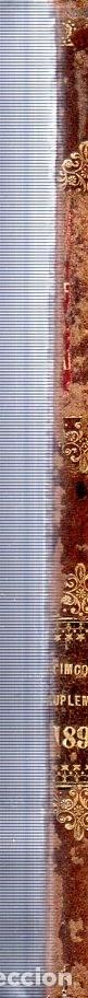 Libros antiguos: LA OFICINA DE FARMACIA ESPAÑOLA. 15º SUPLEMENTO. JOAQUIN OLMEDILLA Y PUIG. BAILLY-BAILLIERE. 1895. - Foto 4 - 174304662