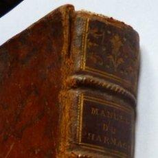Libros antiguos: MANUEL DU PHARMACIEN. PAR M. DEMACHY. TOME SECOND. 1788.. Lote 175106225