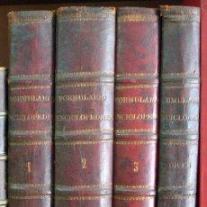 Libros antiguos: ANTIGUOS LIBROS FARMACIA MEDICINA 4 TOMOS FORMULARIO ENCICLOPEDICO FARMACOPEA PEREZ MINGUEZ 1889 93 . Lote 175135883