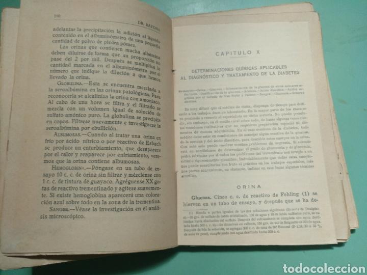 Libros antiguos: Función higiénico-sanitaria del Farmacéutico rural. Córdoba 1931. José Bayona Sánchez - Foto 4 - 175590264