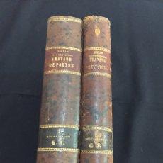 Libros antiguos: ANTIGUOS LIBROS TRATADO COMPLETO DE PARTOS. M. JOULIN. 1878.. Lote 175696313