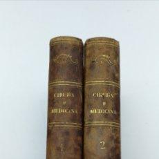 Libros antiguos: NUEVOS ELEMENTOS DE CIRUJIA Y MEDICINA 1946. Lote 175985419