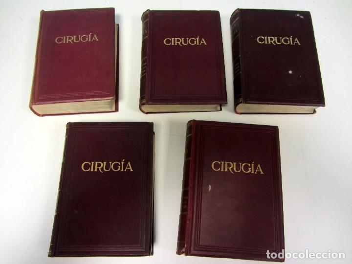 Libros antiguos: CIRUGÍA.TRATADO TEORICO-PRÁCTICO 1910-1911-1912-1914-1915. LOTE DE 5 TOMOS ILUSTRADOS- W. W. KEEN - Foto 2 - 176002245