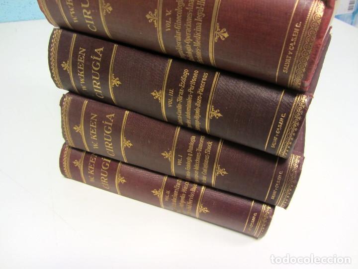 Libros antiguos: CIRUGÍA.TRATADO TEORICO-PRÁCTICO 1910-1911-1912-1914-1915. LOTE DE 5 TOMOS ILUSTRADOS- W. W. KEEN - Foto 10 - 176002245