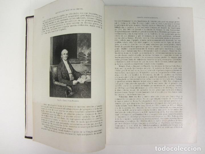 Libros antiguos: CIRUGÍA.TRATADO TEORICO-PRÁCTICO 1910-1911-1912-1914-1915. LOTE DE 5 TOMOS ILUSTRADOS- W. W. KEEN - Foto 8 - 176002245