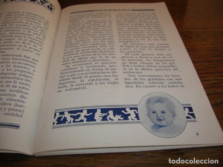 Libros antiguos: Muy interesante librito sobre el cuidado de los niños.Año 1934 - Foto 5 - 176080927