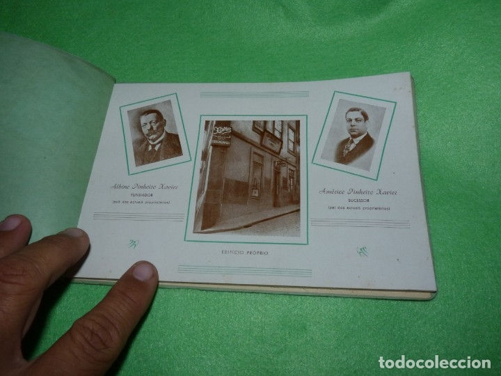 Libros antiguos: Raro catálogo muestrario ortopedia protesis principios siglo XX Casa Xavier Portugal gran estado - Foto 2 - 176302258