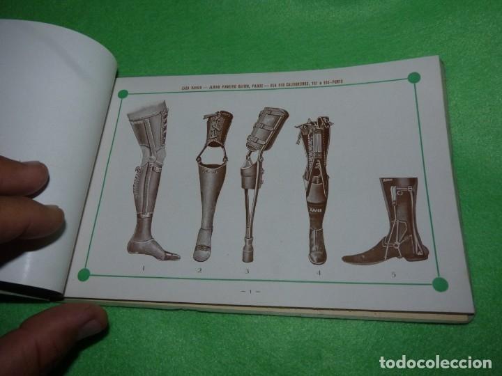 Libros antiguos: Raro catálogo muestrario ortopedia protesis principios siglo XX Casa Xavier Portugal gran estado - Foto 3 - 176302258