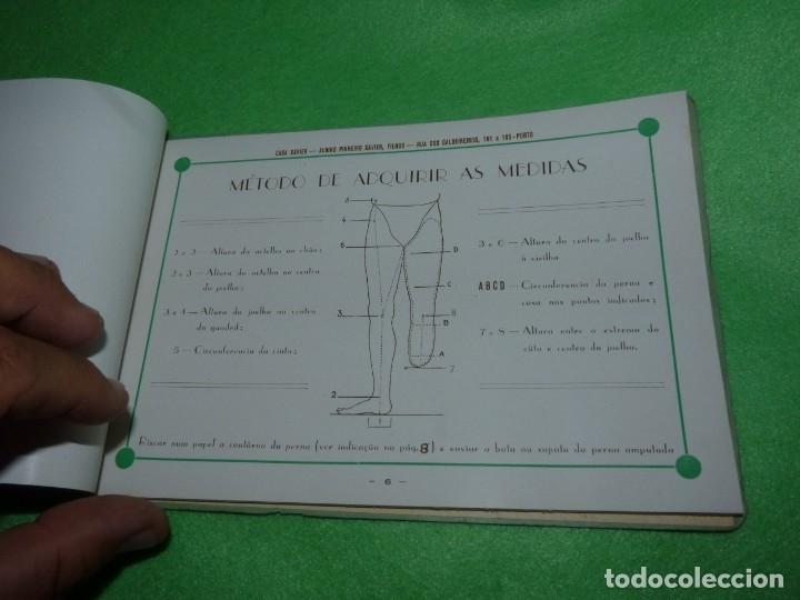 Libros antiguos: Raro catálogo muestrario ortopedia protesis principios siglo XX Casa Xavier Portugal gran estado - Foto 7 - 176302258
