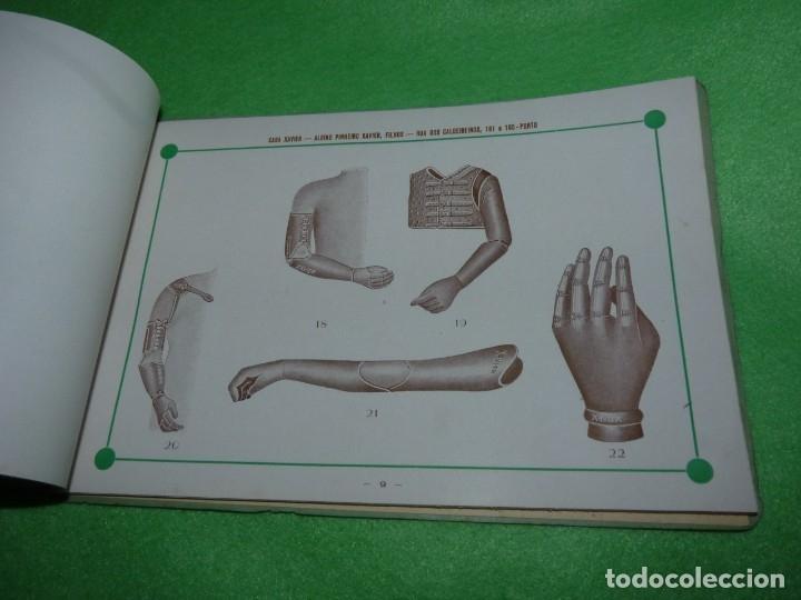 Libros antiguos: Raro catálogo muestrario ortopedia protesis principios siglo XX Casa Xavier Portugal gran estado - Foto 8 - 176302258