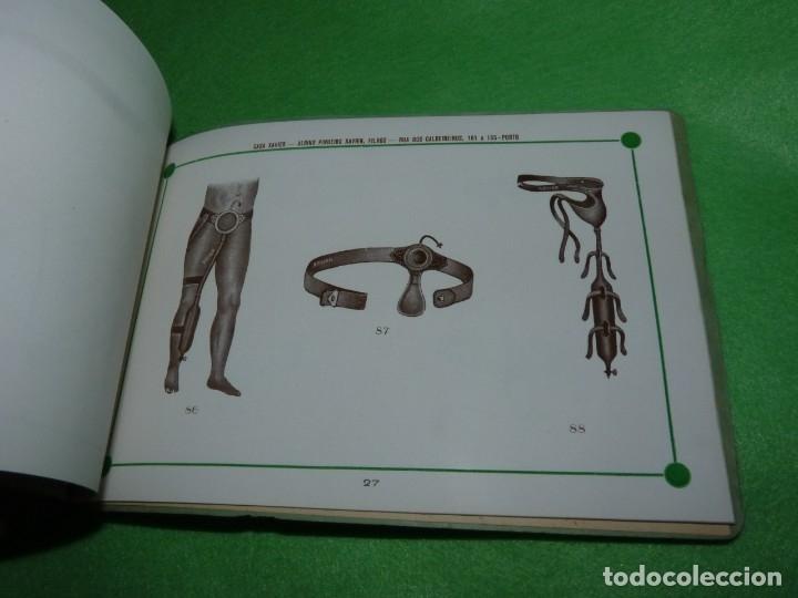 Libros antiguos: Raro catálogo muestrario ortopedia protesis principios siglo XX Casa Xavier Portugal gran estado - Foto 9 - 176302258
