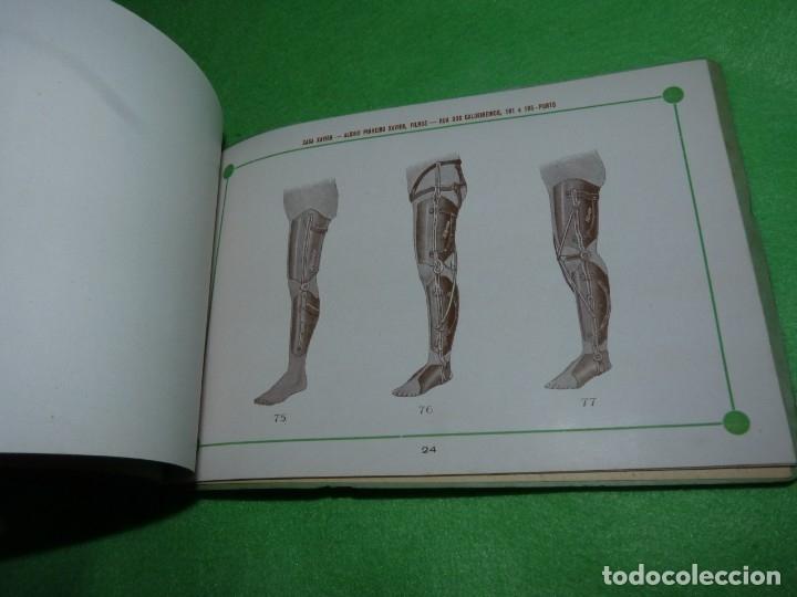 Libros antiguos: Raro catálogo muestrario ortopedia protesis principios siglo XX Casa Xavier Portugal gran estado - Foto 11 - 176302258