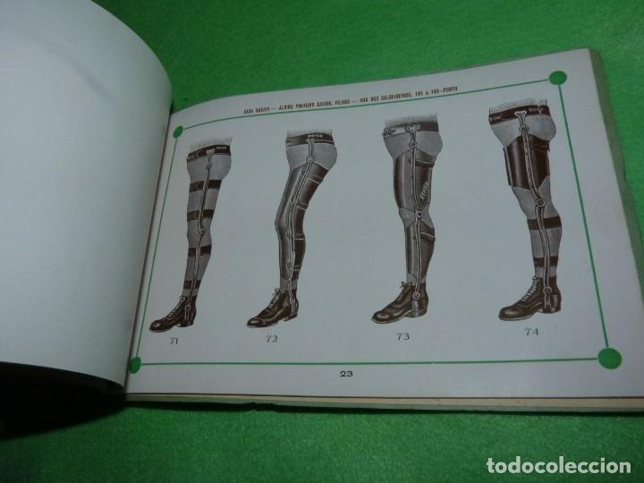 Libros antiguos: Raro catálogo muestrario ortopedia protesis principios siglo XX Casa Xavier Portugal gran estado - Foto 12 - 176302258