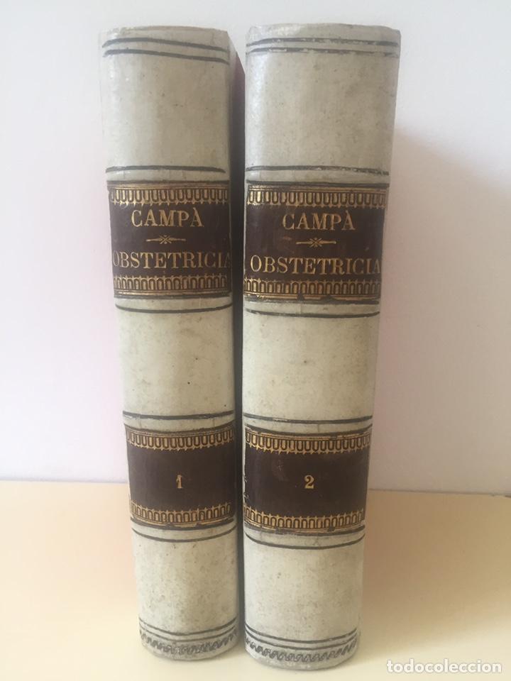 TRATADO DE OBSTETRICIA DOCTOR F.DE P.CAMPA 1885 (Libros Antiguos, Raros y Curiosos - Ciencias, Manuales y Oficios - Medicina, Farmacia y Salud)