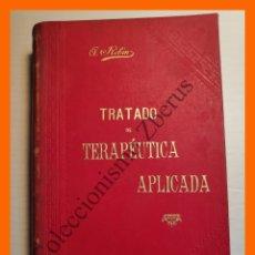 Libros antiguos: TRATADO DE TERAPEUTICA APLICADA, TOMO 1 - ALBERTO ROBIN. Lote 176743003