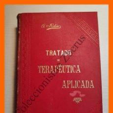 Libros antiguos: TRATADO DE TERAPEUTICA APLICADA, TOMO 2 - ALBERTO ROBIN. Lote 176743259