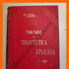 Libros antiguos: TRATADO DE TERAPEUTICA APLICADA, TOMO 3 - ALBERTO ROBIN. Lote 176743417
