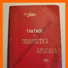 Libros antiguos: TRATADO DE TERAPEUTICA APLICADA, TOMO 4 - ALBERTO ROBIN. Lote 176743500
