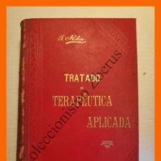 Libros antiguos: TRATADO DE TERAPEUTICA APLICADA, TOMO 5 - ALBERTO ROBIN. Lote 176743792