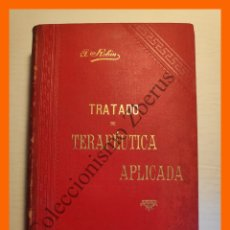 Libros antiguos: TRATADO DE TERAPEUTICA APLICADA, TOMO 7 - ALBERTO ROBIN. Lote 176743870