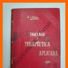 Libros antiguos: TRATADO DE TERAPEUTICA APLICADA, TOMO 8 - ALBERTO ROBIN. Lote 176743957