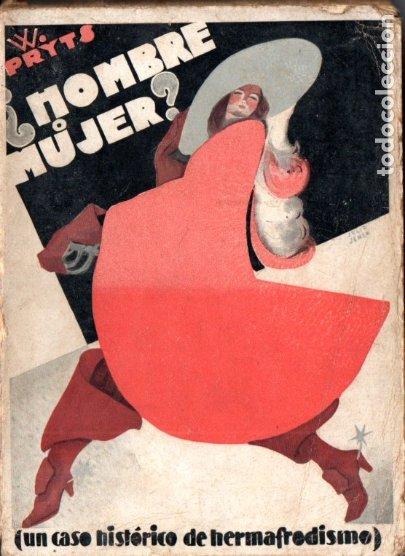 PRYTS : ¿HOMBRE O MUJER? UN CASO HISTÓRICO DE HERMAFRODITISMO (COSTA, 1932) (Libros Antiguos, Raros y Curiosos - Ciencias, Manuales y Oficios - Medicina, Farmacia y Salud)