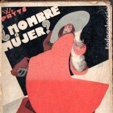 Libros antiguos: PRYTS : ¿HOMBRE O MUJER? UN CASO HISTÓRICO DE HERMAFRODITISMO (COSTA, 1932). Lote 177049978