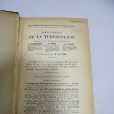 Libros antiguos: LE RHUMATISMO TUBERCULEUX PAR PONCET ET LERICHE. 1909. PARIS.. Lote 177338885