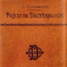 Libros antiguos: L´ETUDIANT EN MEDICINE. BACTERIOLLOGIE. JULES COURMONT. AVEC 235 FIGURESDANS TEXTE. 1897.. Lote 177772172