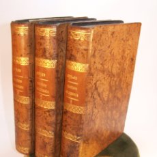 Libros antiguos: TRATADO COMPLETO DE CIRUJÍA. M. J. CHELIUS. 3 TOMOS. LIBRERÍA SRES. VIUDA DE CALLEJA E HIJOS. 1843.. Lote 178326731