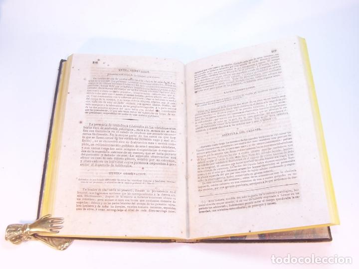 Libros antiguos: Biblioteca escogida de medicina y cirujía. Clínica médica ú observaciones selectas. G. Andral. 5 tom - Foto 13 - 178330910