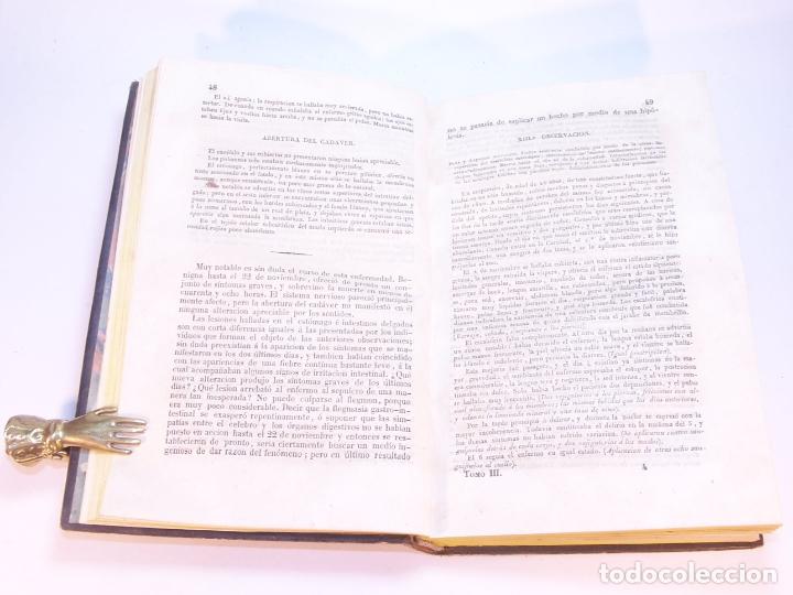 Libros antiguos: Biblioteca escogida de medicina y cirujía. Clínica médica ú observaciones selectas. G. Andral. 5 tom - Foto 19 - 178330910