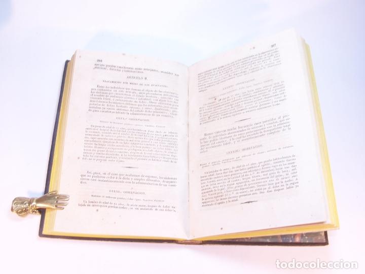 Libros antiguos: Biblioteca escogida de medicina y cirujía. Clínica médica ú observaciones selectas. G. Andral. 5 tom - Foto 20 - 178330910