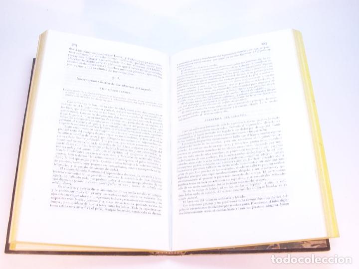 Libros antiguos: Biblioteca escogida de medicina y cirujía. Clínica médica ú observaciones selectas. G. Andral. 5 tom - Foto 28 - 178330910
