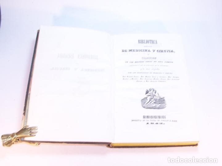 Libros antiguos: Biblioteca escogida de medicina y cirujía. Clínica médica ú observaciones selectas. G. Andral. 5 tom - Foto 32 - 178330910