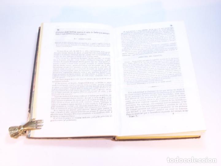 Libros antiguos: Biblioteca escogida de medicina y cirujía. Clínica médica ú observaciones selectas. G. Andral. 5 tom - Foto 33 - 178330910