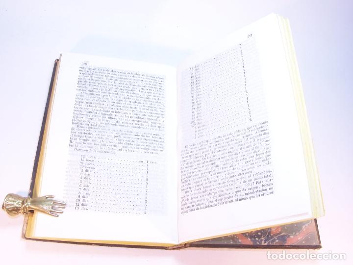 Libros antiguos: Biblioteca escogida de medicina y cirujía. Clínica médica ú observaciones selectas. G. Andral. 5 tom - Foto 35 - 178330910
