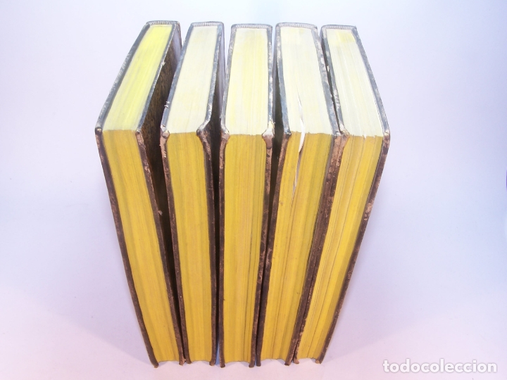 Libros antiguos: Biblioteca escogida de medicina y cirujía. Clínica médica ú observaciones selectas. G. Andral. 5 tom - Foto 38 - 178330910