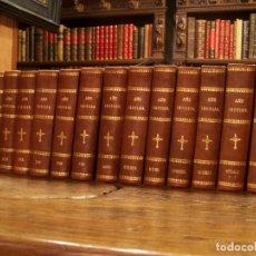 Libros antiguos: AÑO CRISTIANO O EJERCICIO DEVOTO PARA TODOS LOS DÍAS DEL AÑO. P. JUAN CROISSET. 14 TOMOS. 1862.. Lote 178339202